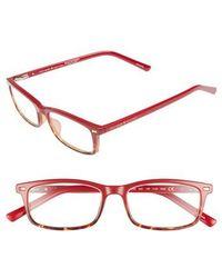 Kate Spade - Jodie 50mm Rectangular Reading Glasses - Lyst