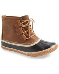 Sorel 'out N About' Leather Boot - Multicolor