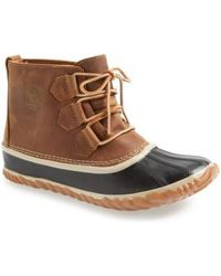 Sorel - 'out N About' Leather Boot - Lyst