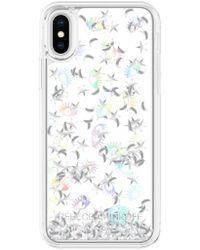 Rebecca Minkoff - Galaxy Icon Glitterfall Iphone X Case - Lyst