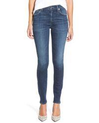 Citizens of Humanity - Rocket High Waist Skinny Jeans - Lyst