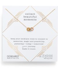 Dogeared - Collect Beautiful Moments Necklace - Lyst