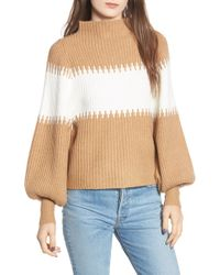 French Connection - Sofia Funnel Neck Sweater - Lyst