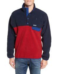 Patagonia - 'synchilla Snap-t' Fleece Pullover - Lyst