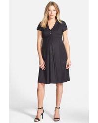 Eva Alexander | London 'audrey' Maternity Dress | Lyst