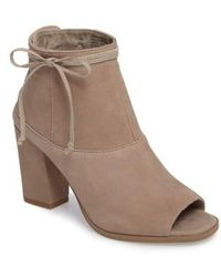 Seychelles | Triple Threat Open Toe Bootie | Lyst