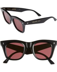 50f48741161 Lyst - Céline Butterfly Sunglasses in Black