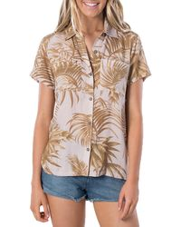 Rip Curl Paradise Cove Shirt - Purple