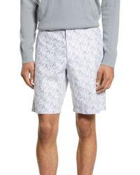 b574af28c7 Club Monaco - Maddox Slim Fit Reverse Palm Shorts - Lyst