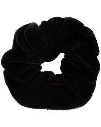 Rebecca Minkoff Velvet Scrunchie - Black