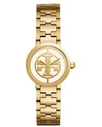 Tory Burch - Reva Watch, Gold-tone/ivory, 36 Mm - Lyst