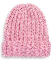 BP. - Fuzzy Knit Beanie - Lyst