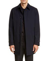 229a20b260 Elements Classic Fit Wool Blend Coat - Blue