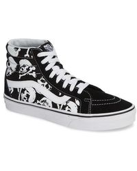 99117ee956b8 Lyst - Vans Sk8-hi Sneaker in Green for Men