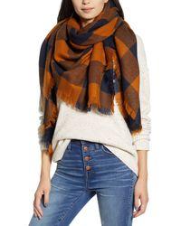 Madewell Buffalo Check Blanket Scarf - Multicolor