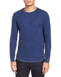 Goodlife | Double Layer Slim Crewneck T-shirt | Lyst