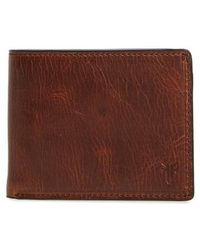 Frye | Logan Leather Wallet | Lyst