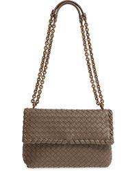 a4eacef754 Bottega Veneta - Small Olimpia Leather Shoulder Bag - - Lyst