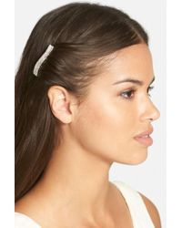 Tasha - 'simple Crystal' Hair Comb - Lyst