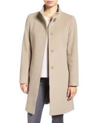 Cinzia Rocca | Stand Collar Walking Coat | Lyst