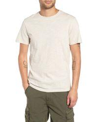 The Rail - Slub Knit T-shirt - Lyst