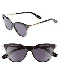 Marc Jacobs - 55mm Cat Eye Sunglasses - Lyst
