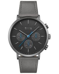 Uri Minkoff - Griffith Leather Strap Watch - Lyst