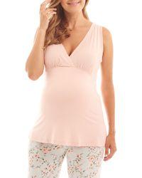 774511982dd66 Everly Grey - Analise During & After 5-piece Maternity/nursing Sleep Set -