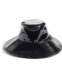 Eric Javits Driptidoo Patent Bucket Rain Hat - Black