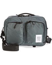 Topo Designs Global Water Repellent Briefcase - Gray