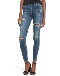 Agolde - 'sophie' High Rise Skinny Jeans - Lyst