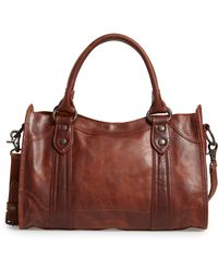 Frye - 'melissa' Washed Leather Satchel - - Lyst