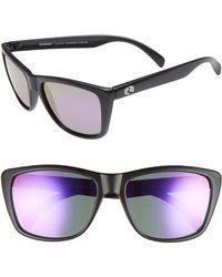Rheos Gear - Sapelos Floating 60mm Polarized Sunglasses - Gunmetal / Purple - Lyst
