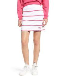 Fila - Liri Stripe Skirt - Lyst