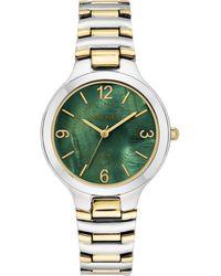 Anne Klein - Considered Solar Power Bracelet Watch - Lyst