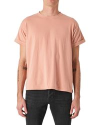 Neuw Band Solid Oversize T-shirt - Pink