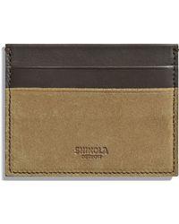 Shinola - Explorer Card Case - Lyst
