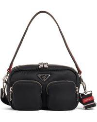 be90b8a379e8 Prada - Logo Nylon Shoulder Bag - Lyst