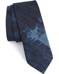 Nordstrom - 1901 Meggeit Solid Cotton Tie - Lyst