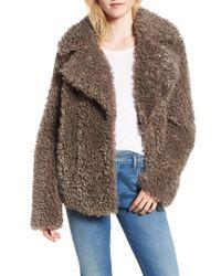 Kensie - Faux Fur Jacket - Lyst