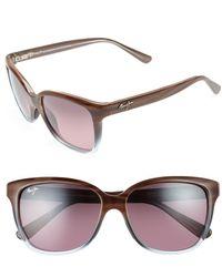 Maui Jim Starfish Polarizedplus2® Cat Eye 56mm Sunglasses - Blue