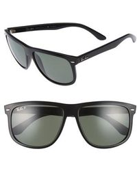 Ray-Ban | 'boyfriend' 60mm Polarized Sunglasses | Lyst