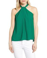 Gibson X International Women's Day Chelsea Halter Neck Date Top - Green