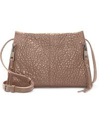 Vince Camuto Zani Leather Crossbody Bag - Brown