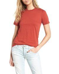 AG Jeans - Destroyed Crewneck Tee - Lyst