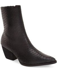Matisse - Caty Western Pointy Toe Bootie - Lyst