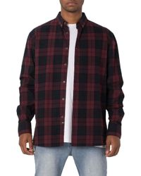 Zanerobe - Oversize Plaid Flannel Shirt - Lyst