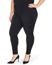 REBEL WILSON X ANGELS - The Mogul Mid Rise Super Skinny Jeans - Lyst