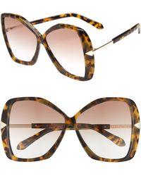 c1e635348bf Karen Walker Deep Orchard Sunglasses - Crazy Tort Clear G15 Mono in ...