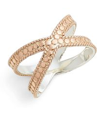 Anna Beck - Crisscross Ring - Lyst